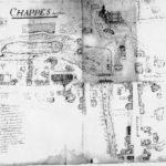 1500 Carte de Cassigni de Chappes près de la forêt d'Orient en Champagne Ardenne