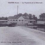 1920 Machine a vapeur dans le moulin de Chappes dans l'Aube