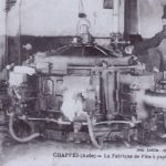 1930 La presse du Moulin de Chappes dans l'Aube