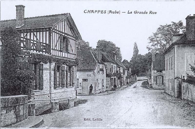 1908 Maison Lafille en Champagne Ardenne dans l'Aube près de Paris