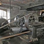 Visite du moulin pour le gîte de charme, une turbine hydraulique Francis
