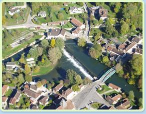 Village de Chappes dans l'Aube en Champagne Ardenne près de Paris